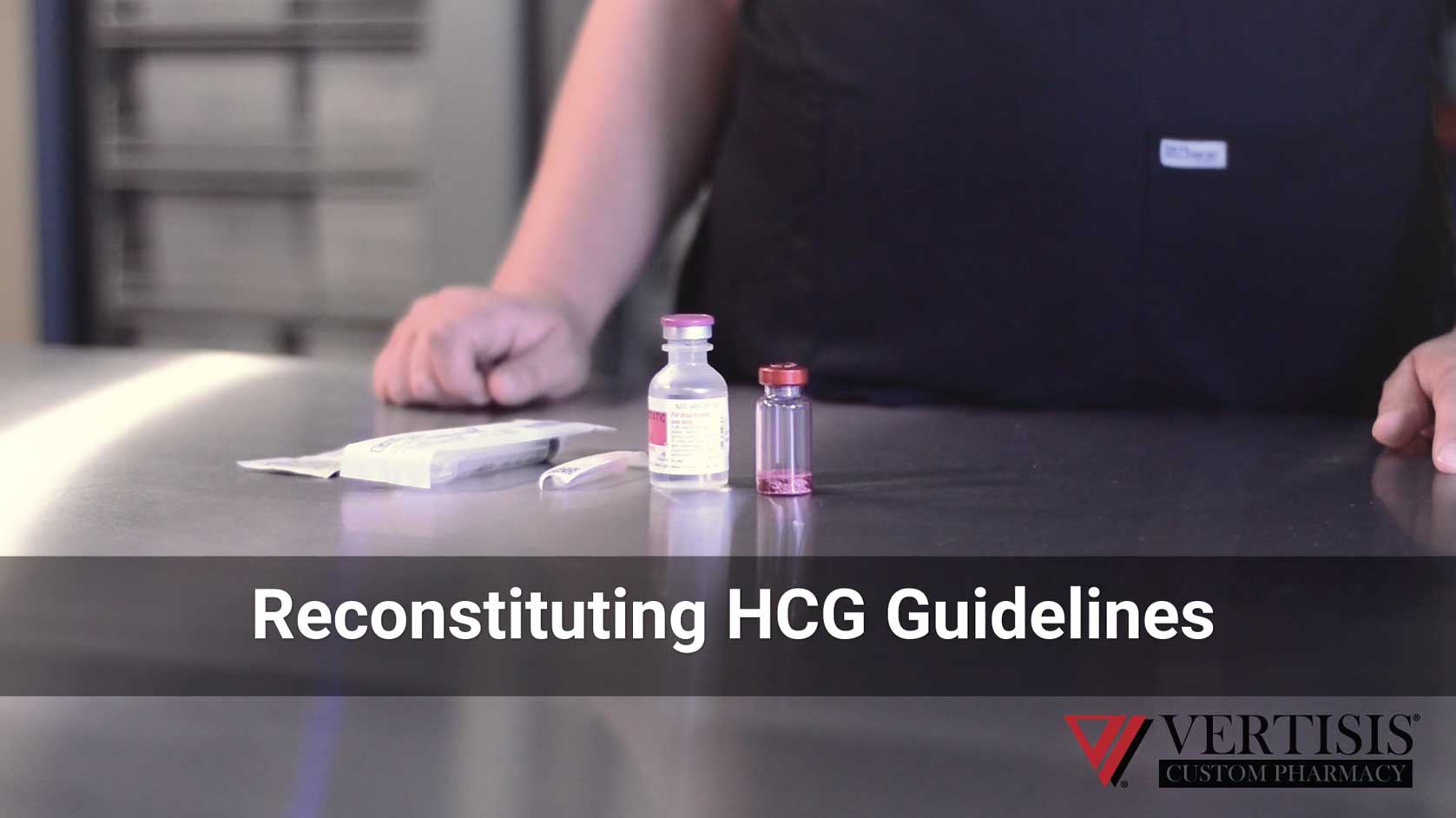 HCG Reconstitution Guidelines